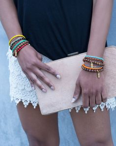 On The Blog: Brace-Let Yourself #dogeared #bracelets #sundaystyle