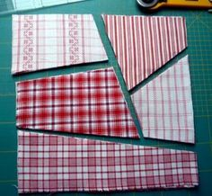 Nähanleitung Crazy-Muster: der schnelle Quilt Sewing instructions Crazy pattern: the quick quilt Image Size: 768 x 712 Source Patchwork Curtains, Baby Patchwork Quilt, Patchwork Quilt Patterns, Patchwork Cushion, Patchwork Bags, Rag Quilt, Fabric Patterns, Patchwork Ideas, Patch Quilt