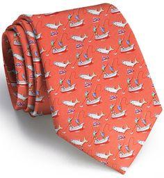 Tarpon Frenzy: Tie - Coral - Bird Dog BayBird Dog Bay