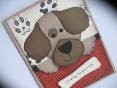 Sympathy card for a pet loss by gloriouscardgreeting on Etsy, $3.00
