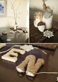 this is intended for a baby shower...but really it could be neat decorations for any winter get together.  =)