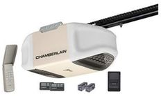 3. Chamberlain PD612EV 1/2 HP MyQ Enabled Chain Drive Garage Door Opener, Off White Keyless Entry, Best Garage Door Opener, Best Garage Doors, Garage Door Repair, Chamberlain Garage, Control Panel, Chain Drive, New Pins, Building Materials