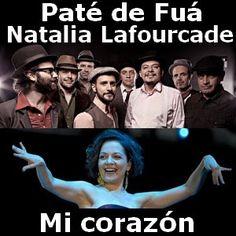 Acordes D Canciones: Pate de Fua - Mi corazon ft. Natalia Lafourcade