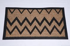 """DOOR MAT NATURAL COIR AND RUBBER SIZE 18"""" X30"""" LOW CLEARANCE by FOREVER MATS. $9.99. Anti skid rubber backing. Rubber backing gives a firm grip on wooden/Carpeted/Vinyl floor. Indoor and outdoor use. Door mat is made of Coir (Natural fiber) and Natural rubber backing.The thick coir brush provides unmatched scrubbing action and moisture absorption.The coir fiber is moth and fungi resistant.This mat can be used Indoors and outdoors.The Coir fibers are inter woven togethe..."""