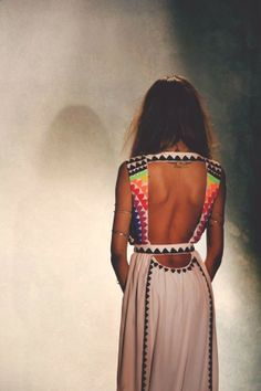 can we talk about the back of this dress?