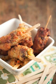 Paula Deen's Stuffing on a stick!- Great Idea for kids for the holidays especially!