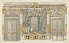 The Metropolitan Museum of Art - Presentation Drawing: Interiors