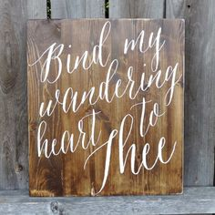 Bind My Wandering Heart To Thee // Come by AnchoredSoulDesignCo