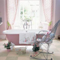 Arredare il bagno in stile shabby chic - Bagno dal gusto retrò   Shabby