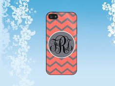 coral and grey chevron Case for iPhone, Samsung Galaxy S2/S3/S4, Samsung Galaxy Tab/Note 2/3,HTC, Blackberry
