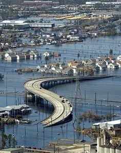 Causas y consecuencias del huracán Katrina. Para aprender más sobre desastres naturales.