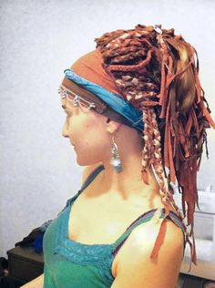 How- to make a wig from fabric