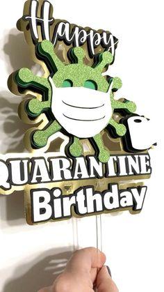 Happy Birthday Wishes, Diy Birthday, Birthday Cards, Birthday Cake Toppers, Cupcake Toppers, First Birthdays, Diy And Crafts, Paper Crafts, Congratulations Graduate
