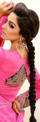 Long Indian hair, im aiming for this!