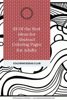 Get information about 23 Of the Best Ideas for Abstract Coloring Pages for Adults. Get this Gorgeous and Save this article now! Abstract Coloring Pages, Detailed Coloring Pages, Fairy Coloring Pages, Printable Adult Coloring Pages, Mandala Coloring Pages, Christmas Coloring Pages, Free Coloring Pages, Coloring Books, Coloring Sheets