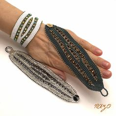 Beaded Jewelry Designs, Herringbone, Seed Beads, Beaded Bracelets, Accessories, Istanbul, Beading, Diy Kid Jewelry, Hama