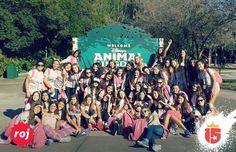 El grupo #rojoF16 en #Disney! Vos los soñás nosotros cumplimos el sueño! :: #enjoy15!