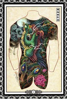 Hailin Tattoo, the tattoo studio of master tatoo artist Hailin Fu located in Hollywood, Los Angeles.