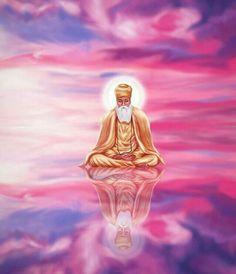 Guru Nanak Photo, Guru Nanak Ji, Nanak Dev Ji, Guru Granth Sahib Quotes, Shri Guru Granth Sahib, Guru Nanak Teachings, All God Images, Guru Nanak Wallpaper, Sikh Quotes