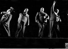 Alfred Hitchcock on the dance floor
