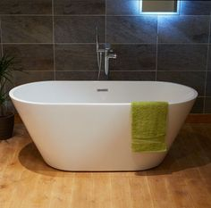 The Bari 1500mm Freestanding Bath is a stunning addition to a modern bathroom. Bath comes with built in overflow and waste and is perfectly complimented by one of our stylish freestanding taps. If a more conventional bath filler or bath shower mixer is re