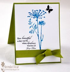 Benzi Stampz: It's Friday...Queen for the Day    Cased card by Barb aka BarbieP on Splitcoaststampers