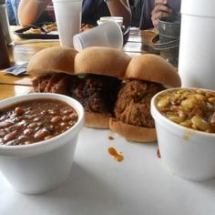 Sliders at 4 Rivers BBQ in Florida