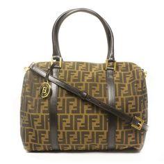 187a5b95e9d8 Product Description Fendi Baulotto Duffel Bag authentic Made in Italy  Brand Model  Fendi Dimensions  x x Strap drop  Gold hardware  Adjustable detachable ...