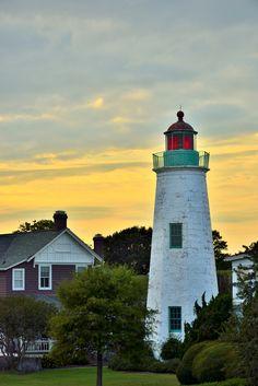 Lighthouse at Fort Monroe by Joseph Broyles, via 500px