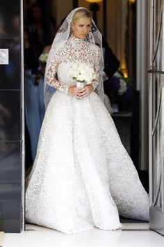 Nicky Hilton wedding pictures - marries James Rothschild wearing Valentino couture | Harper's Bazaar
