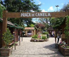 Praça principal - Canela - RS