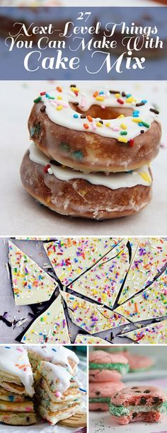 27 things (besides cake) you can make with Cake Mix!