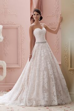 I absolutely love david tutera's designs. I want to wear on of his wedding dresses on my big day :) ....Style 115226 by David Tutera for Mon Cheri