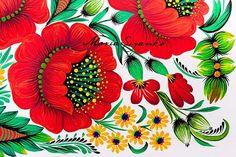 Картинки по запросу тюльпан петриковская роспись мастер класс