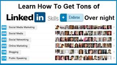 Learn How to Get Your LinkedIn Skills Endorsed Over Night
