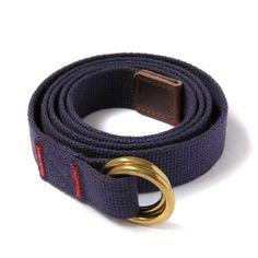 Navy Webbing Belt