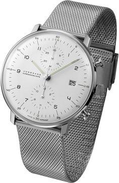 Max Bill Chronoscope Wrist Watch