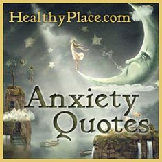 Anxiety quotes providing inspiration and a look into what it's like living with anxiety and panic. These quotes are on beautiful shareable images.