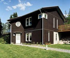 brunt hus - Sök på Google Shed, Outdoor Structures, Cabin, House Styles, Home Decor, Google, Decoration Home, Room Decor, Cabins