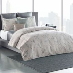 Simply+Vera+Vera+Wang+Floral+Shadow+Duvet+Cover+Collection