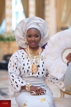 Awww Nigerian bride