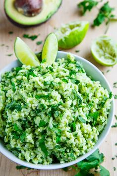 Juisy | Cilantro Lime Rice with avocado