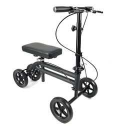 KneeRover Economy Knee Scooter Steerable Knee Walker Crutch Alternative with DUAL BRAKING SYSTEM in Matte Black ** You can find out more details at the link of the image. (This is an affiliate link) Knee Scooter, Scooter Wheels, Walker Medical, Ankle Surgery, Leg Injury, Honda Ruckus, Scooters For Sale, Mobility Aids, Crutches