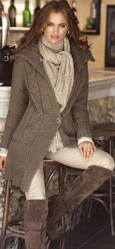 Preparada para el invierno #fashion women