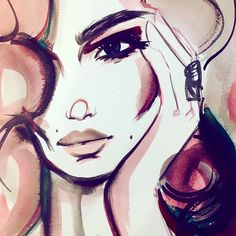 Shadow Face, Face Hair, Fashion Illustrations, Study, Art, Faces, To Draw, Art Background, Studio