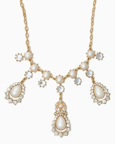 charming charlie Drop the Glam Necklace UPC 410006784710