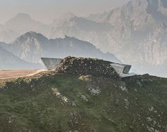 On Top of the World: Zaha Hadid's Mountain Museum Channels the Spirit of the World's Greatest Adventurer - Architizer