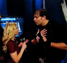 Dean Ambrose is feeling hurt (GIF images)