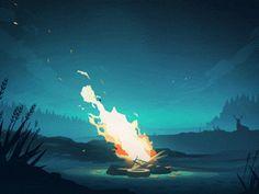 Amazing Digital Animations by Mikael Gustafsson - UltraLinx #Animation