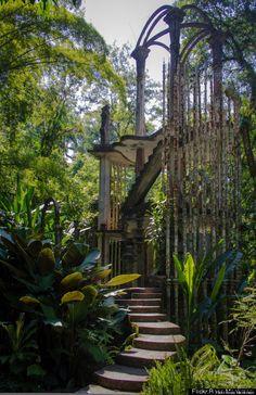 Edward James's Las Pozas in the rainforest by Xilitla